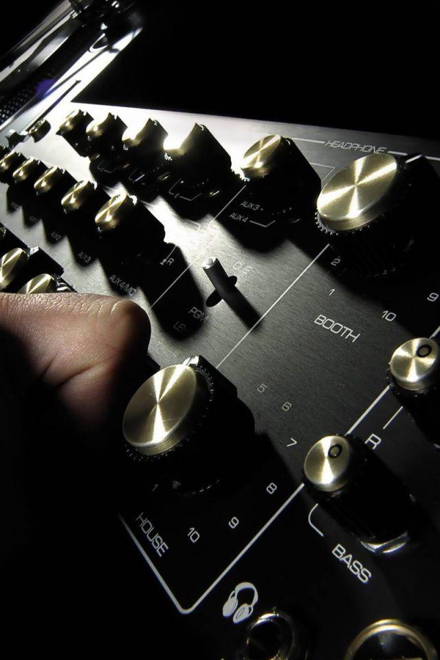 Dj Sound Mixer Smartphone Wallpaper | DJ | Dj sound, Music