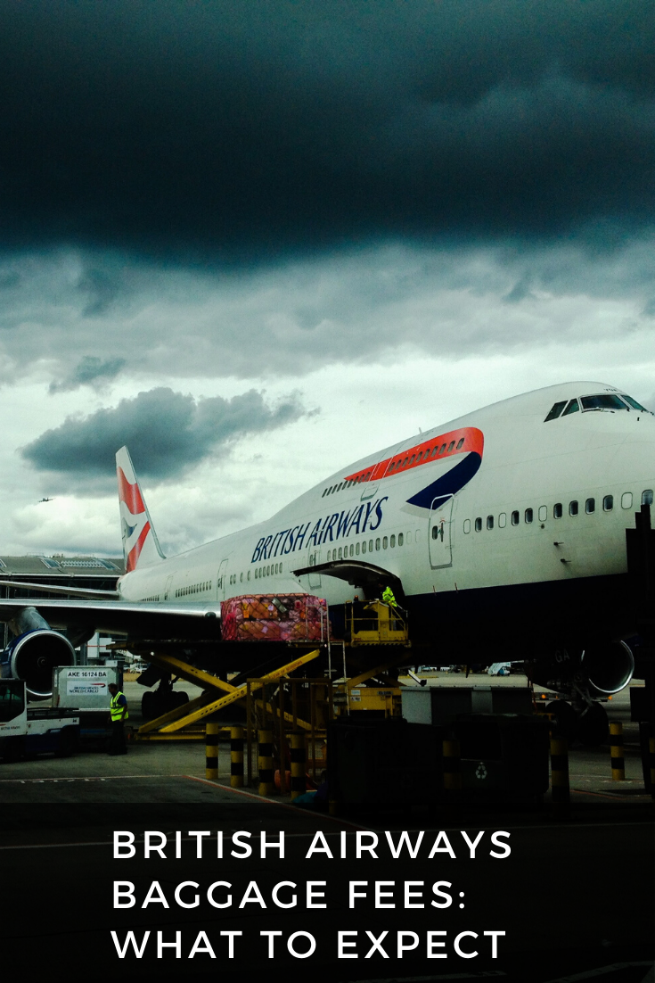 British Airways Baggage Fees 2020 What To Expect