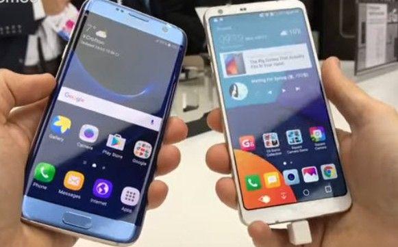 Lg G6 Vs Samsung Galaxy S7 At T Comparison Samsung Galaxy S7 Edge Samsung Galaxy S7 Samsung