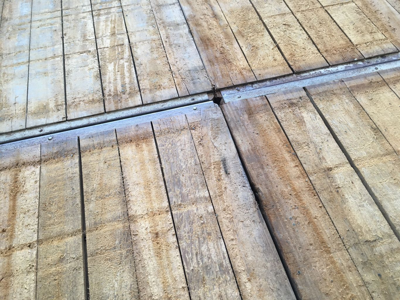 panneau de coffrage bois ancien panneau azob fond de barge plancher ancien reclaimed. Black Bedroom Furniture Sets. Home Design Ideas