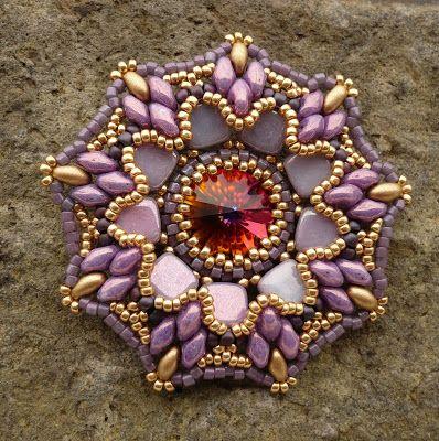 Vezsuzsi gyöngyei: Februári tanfolyam-folyam  #beadwork