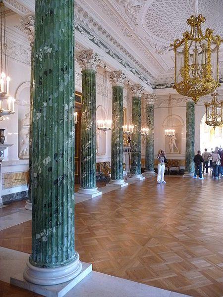 The Greek Hall at Pavlovsk Palace.