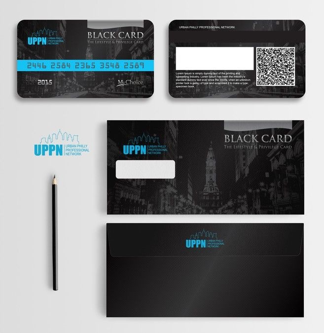 BLACK MEMBERSHIP CARD - Front Membership cards Pinterest Logos - membership cards design