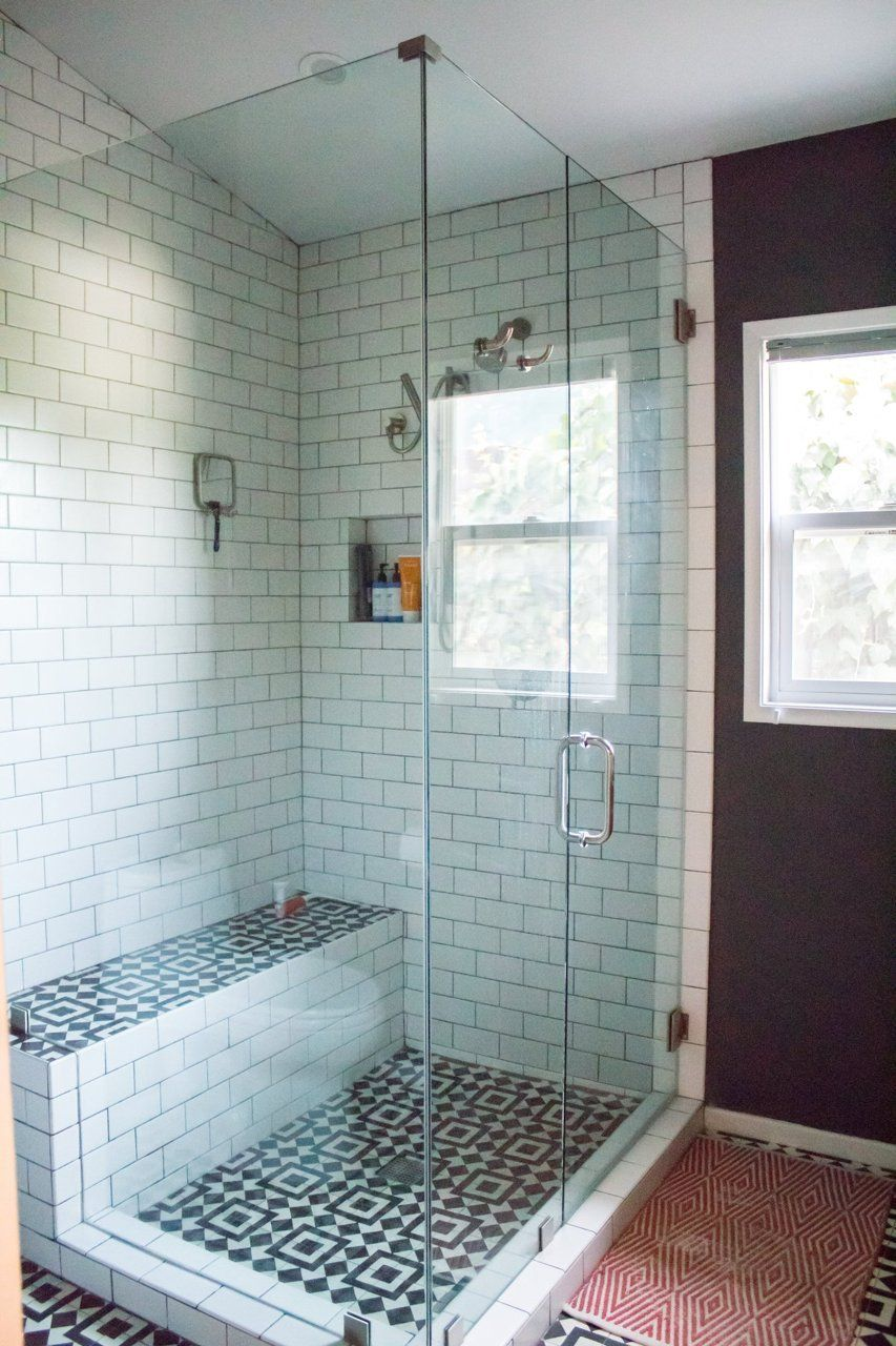 Shower Floor Tile The Cement Tile Blog Bathroom Pinterest