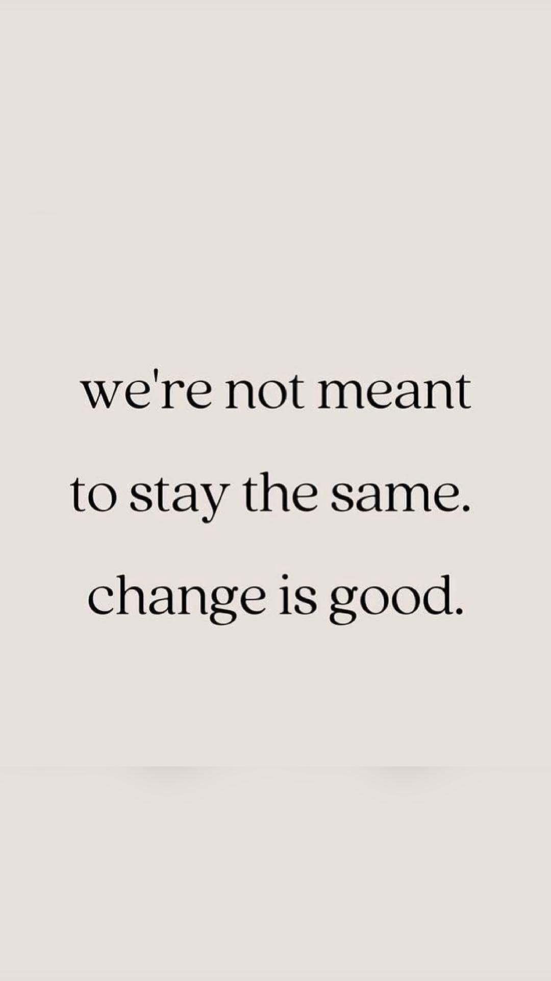 Change. Grow. Level up.