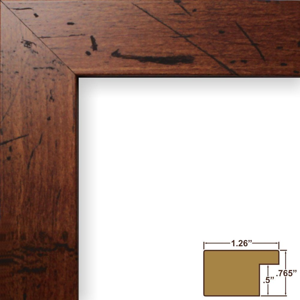 Craig Frames FM26WA1824C 1.26-Inch Wide Picture/Poster Frame in Smooth Grain Finish, 18 by 24-Inch, Dark Brown - $32
