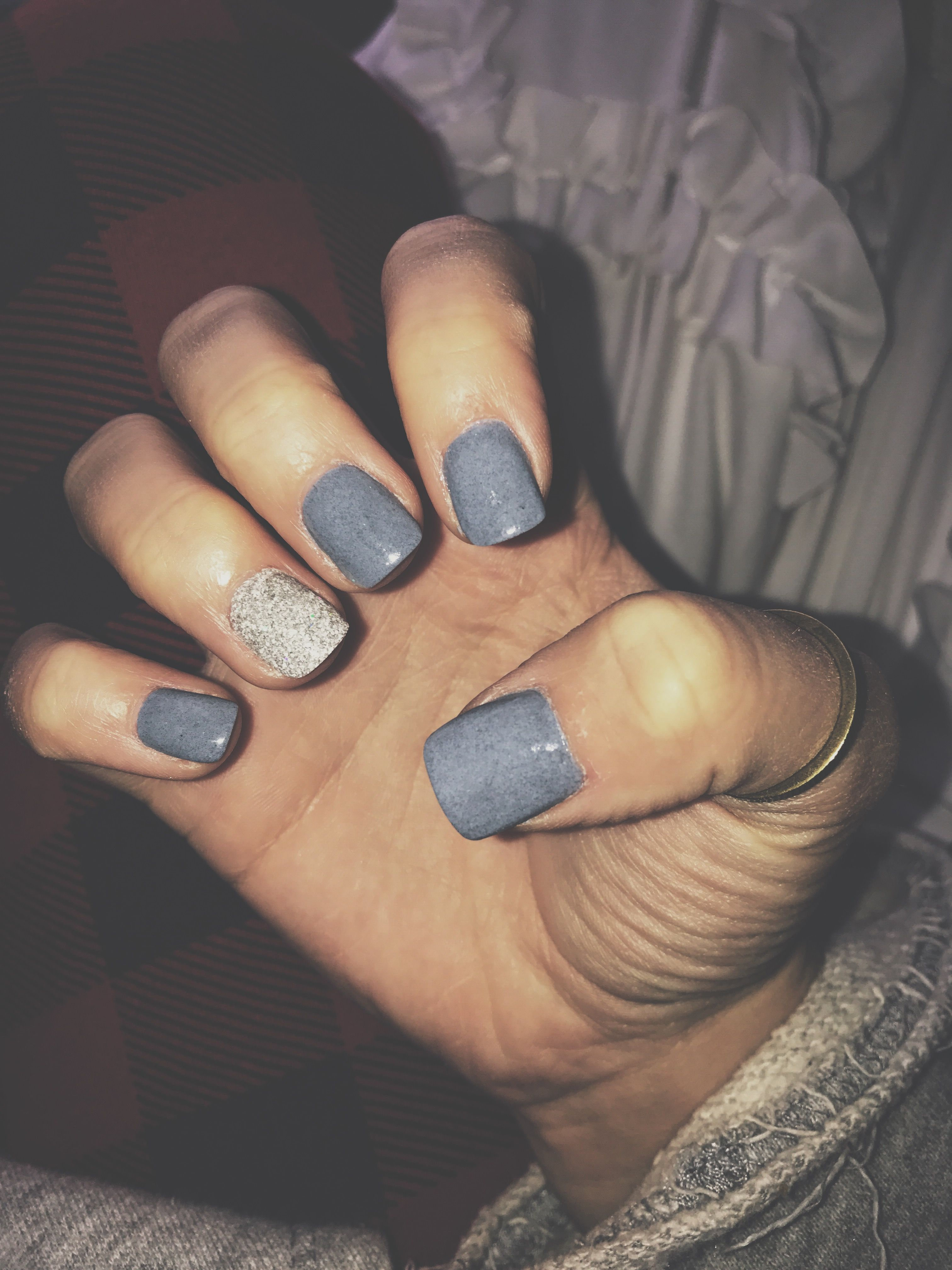 Short Acrylic Winter Nails Fall Nails Grey Acrylics Fall Acrylic Nails Short Coffin Nails Best Acrylic Nails
