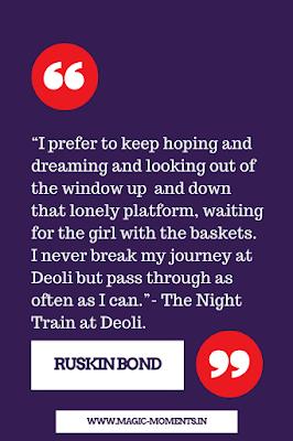 A Gathering Of Friends By Ruskin Bond Bond Quotes Ruskin Bond Bond