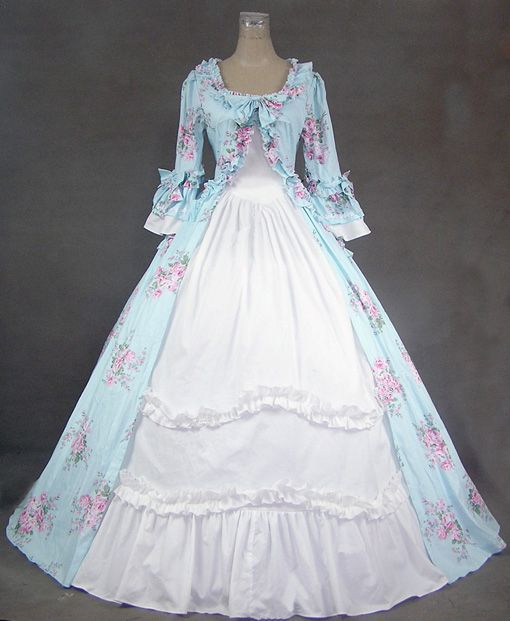 Old Fashion Dresses 1800s