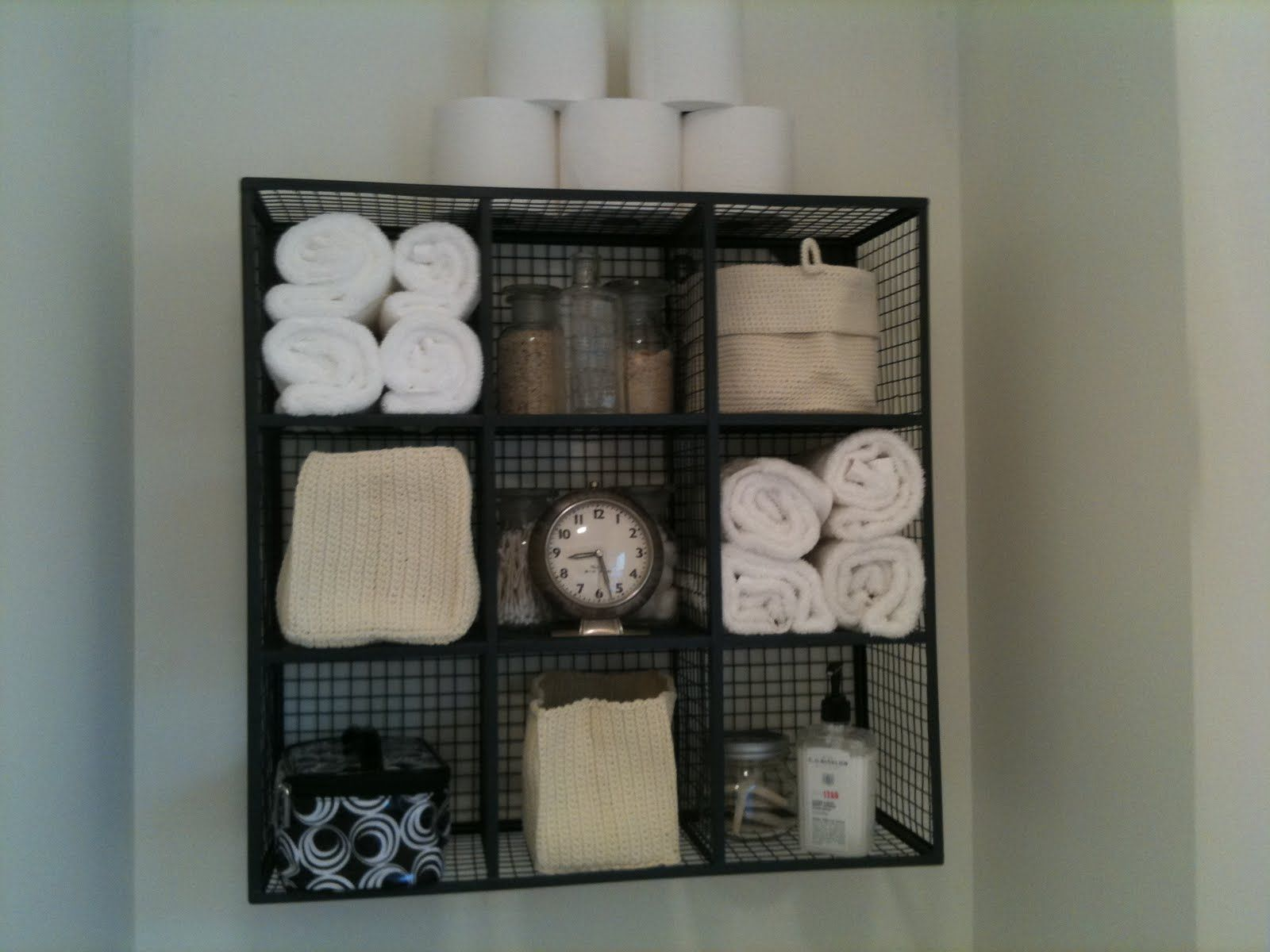 Bathroom storage for towels - 1000 Ideas About Toilet Storage On Pinterest Over Toilet Storage Toilet Room And Powder Room Storage