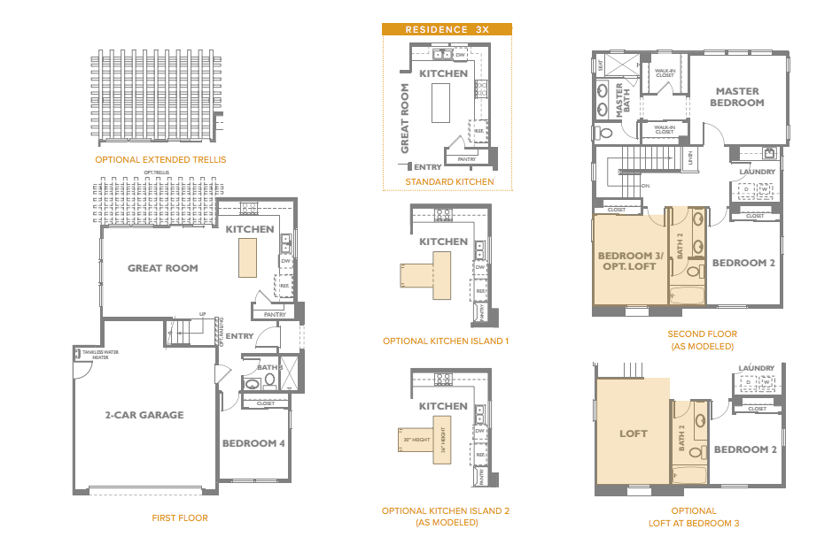 The Peake Residence 3 Floor Plan