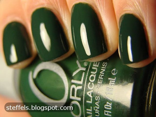 Orly Enchanted Forest Deep Green Nail Lacquer