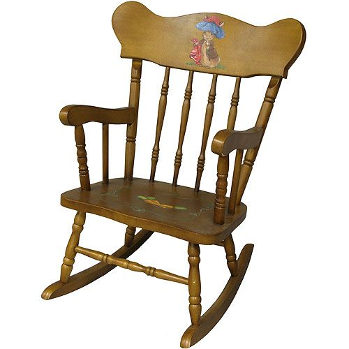 Benjamin Bunny Child's Rocking Chair from Posh Tots...