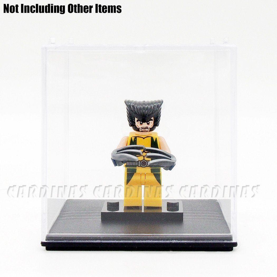 "Odoria Clear Acrylic Display Box Case 2.6"" Cube Small Size"