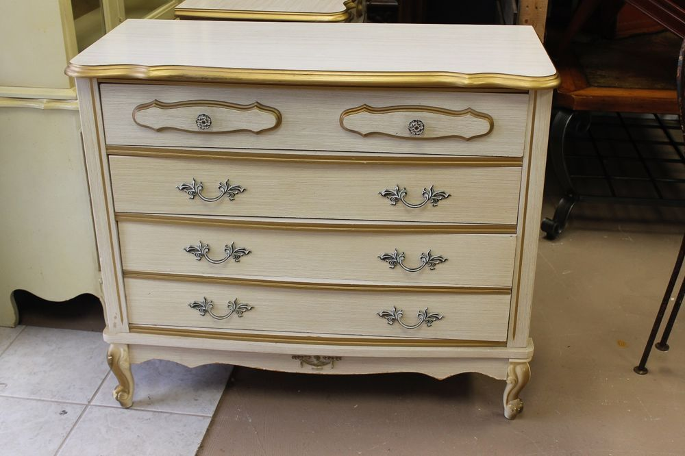 1960\'s French Provincial Bonnet by Sears Dressers | Diy ...