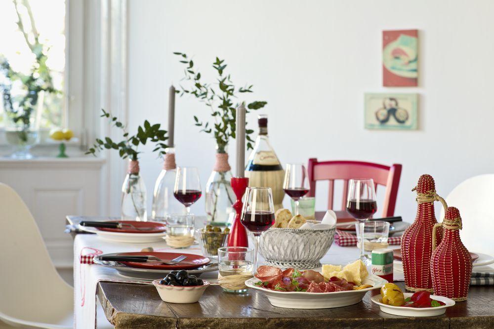 italienischer abend mit freunden zimmermann f r g ste italienischer abend. Black Bedroom Furniture Sets. Home Design Ideas