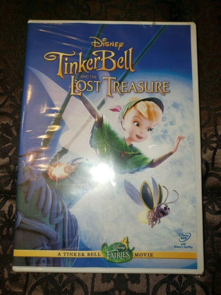 Rare Factory Sealed Disney Tinkerbell And The Lost Treasure