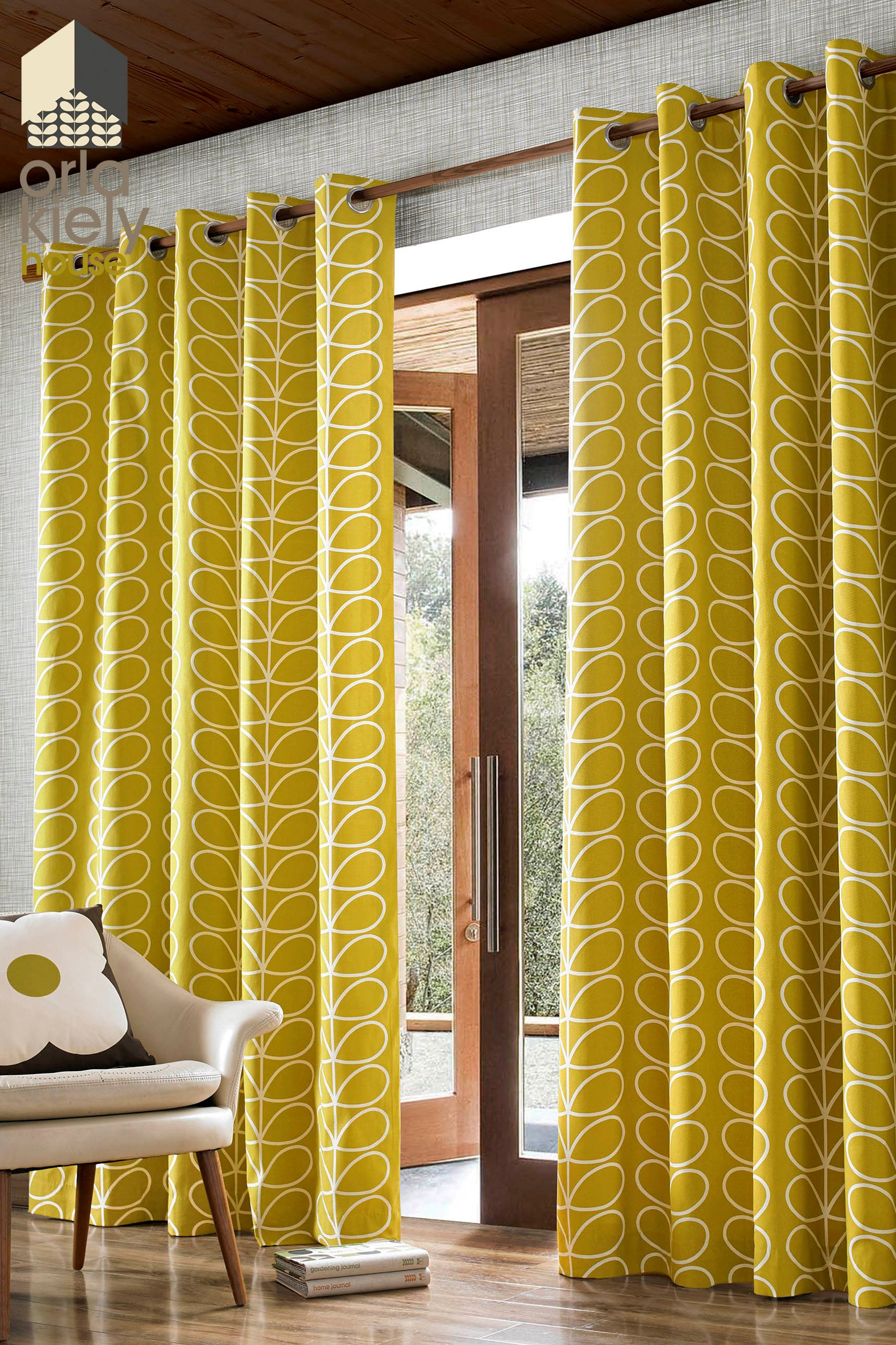 Second Bedroom By Julie Taylor Orla Kiely Curtains Curtains Orla Kiely