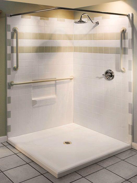 Handicap Shower Stall Prices Design Pinterest Handicap Shower - Bathroom stalls prices