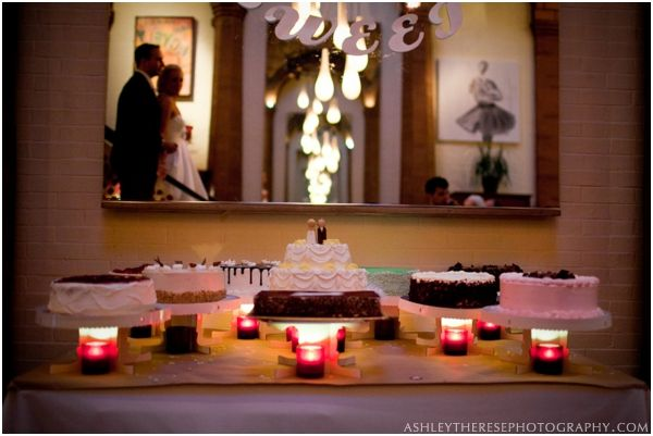 Le Magnifique: Greenwich, Connecticut Wedding by Ashley Therese Photography #cake #weddings