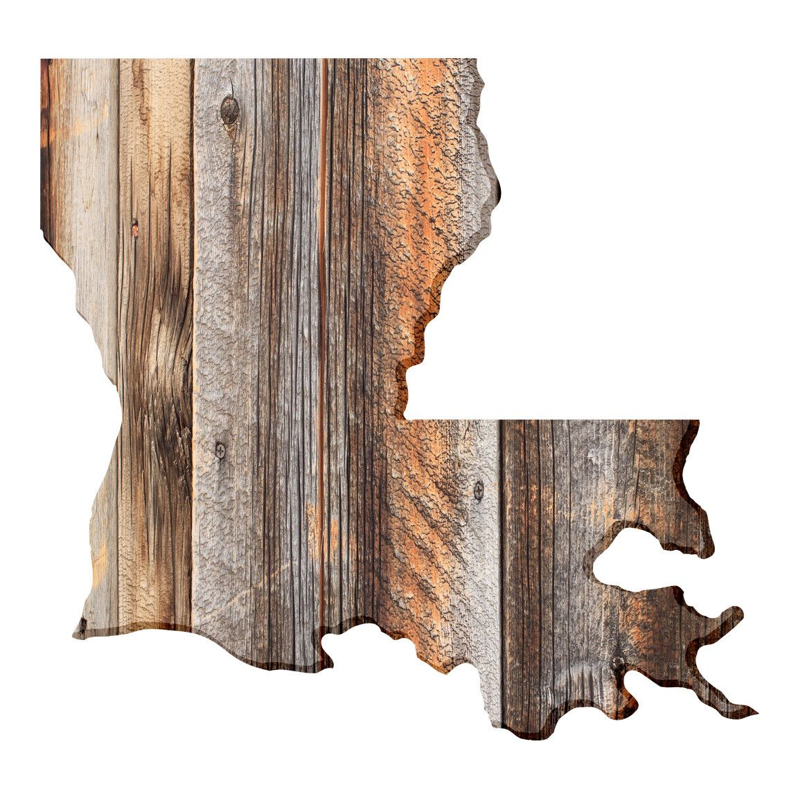 US State Art Wall Decals