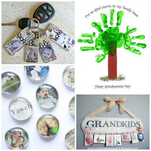 If your family is anything like mine, gift ideas for grandparents can be tricky. It's hard sometimes to find just the right thing. I'm thinking these DIY gifts might just be the way to go.