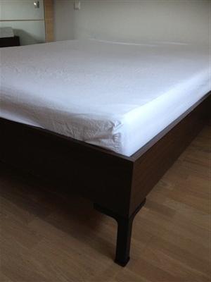 Ikea rúm, 140x200 cm með Sultan svampdýnu bland.is