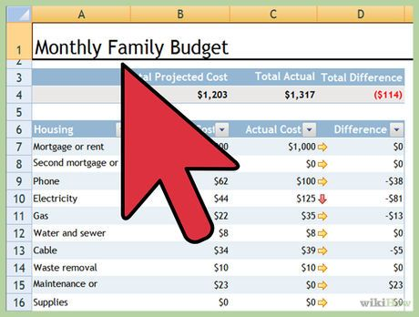 Make a Personal Budget on Excel How To\u0027s Pinterest Budgeting - excel spreadsheets templates