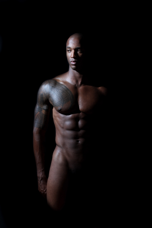 Nude Black photography male