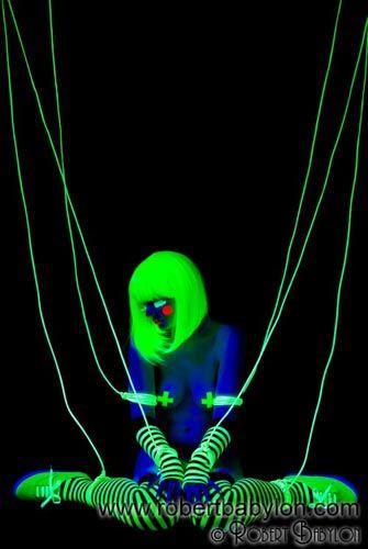 neon erotic art