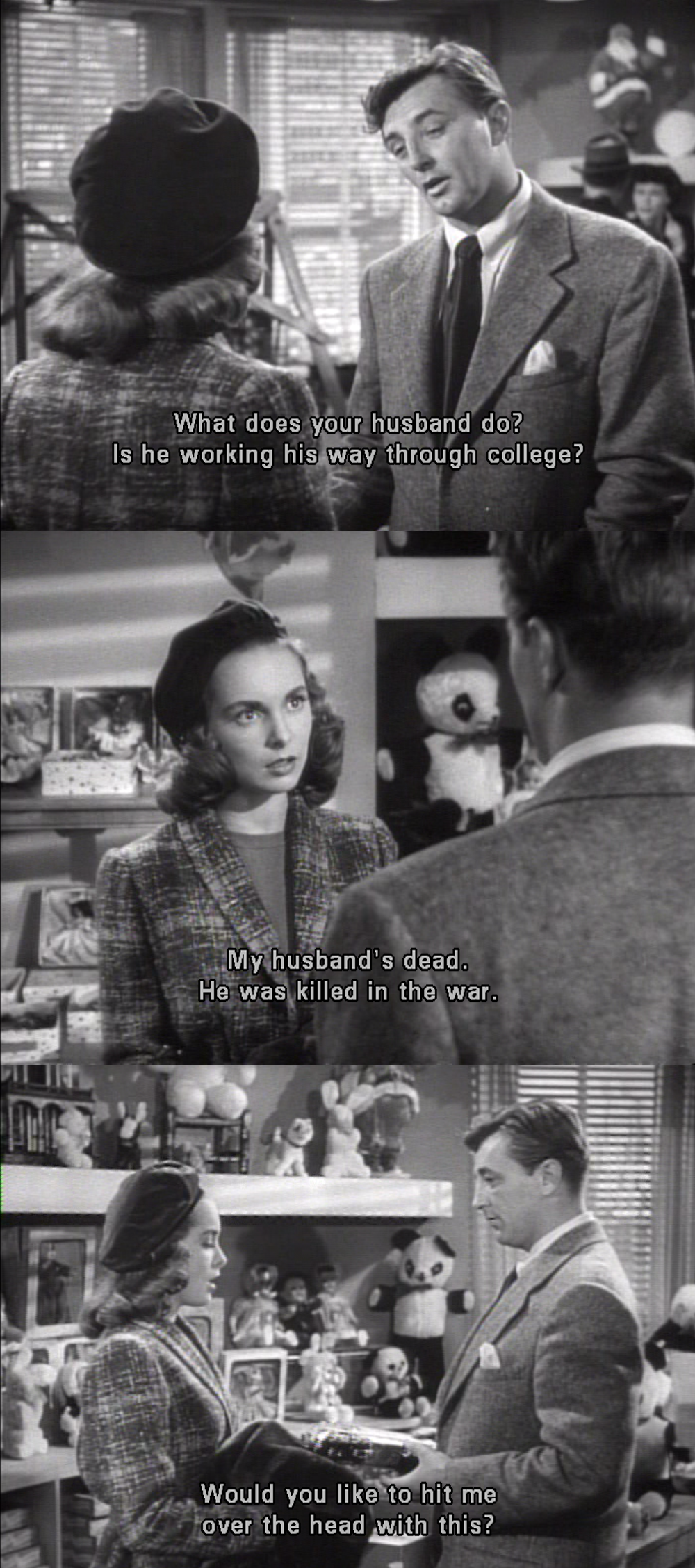 Eight Days Of Christmas Holiday Affair 1949 Classic Movie Quotes Classic Film Quotes Old Hollywood Movies
