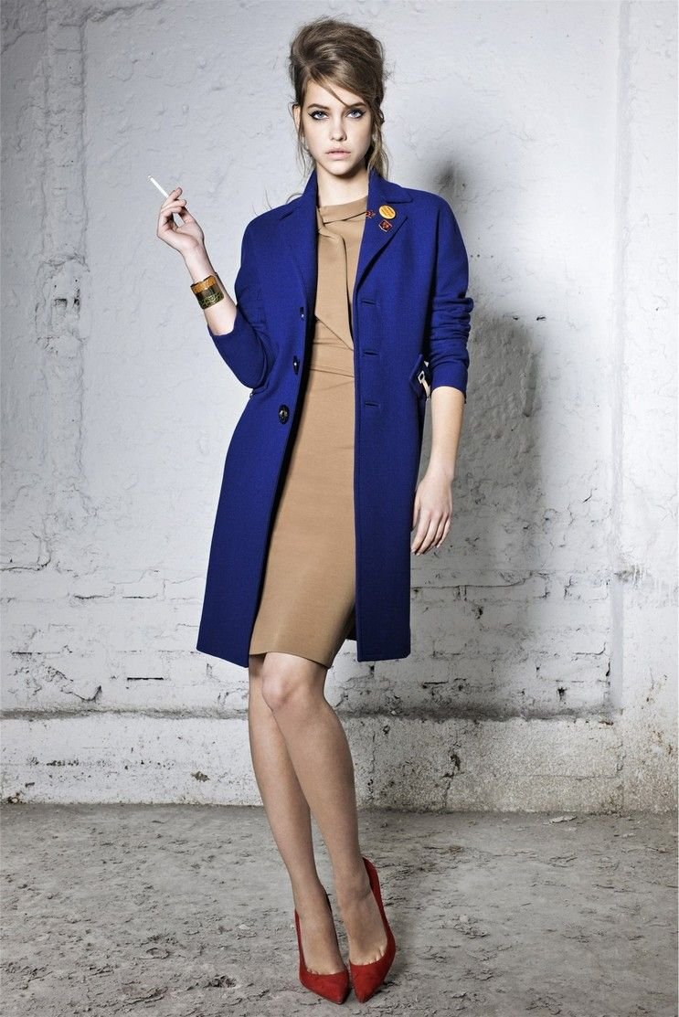 Dsquared2 pre fall 2012.  A shift in color-blocking from Spring's wake-up hyper bright to a richer, calmer tone.