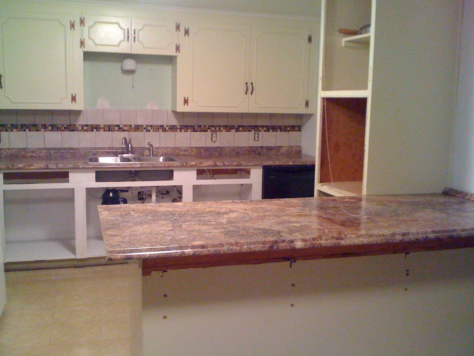 Dad's Kitchen remodel beginnings | Remodeling | Pinterest | Dads ...