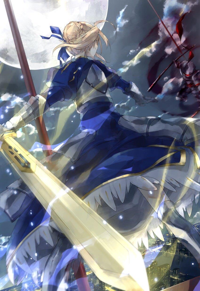 Saber vs Berserker F/Z Anime, Fate zero