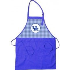 Kentucky Wildcats Gingham Pattern Tailgate Apron ...