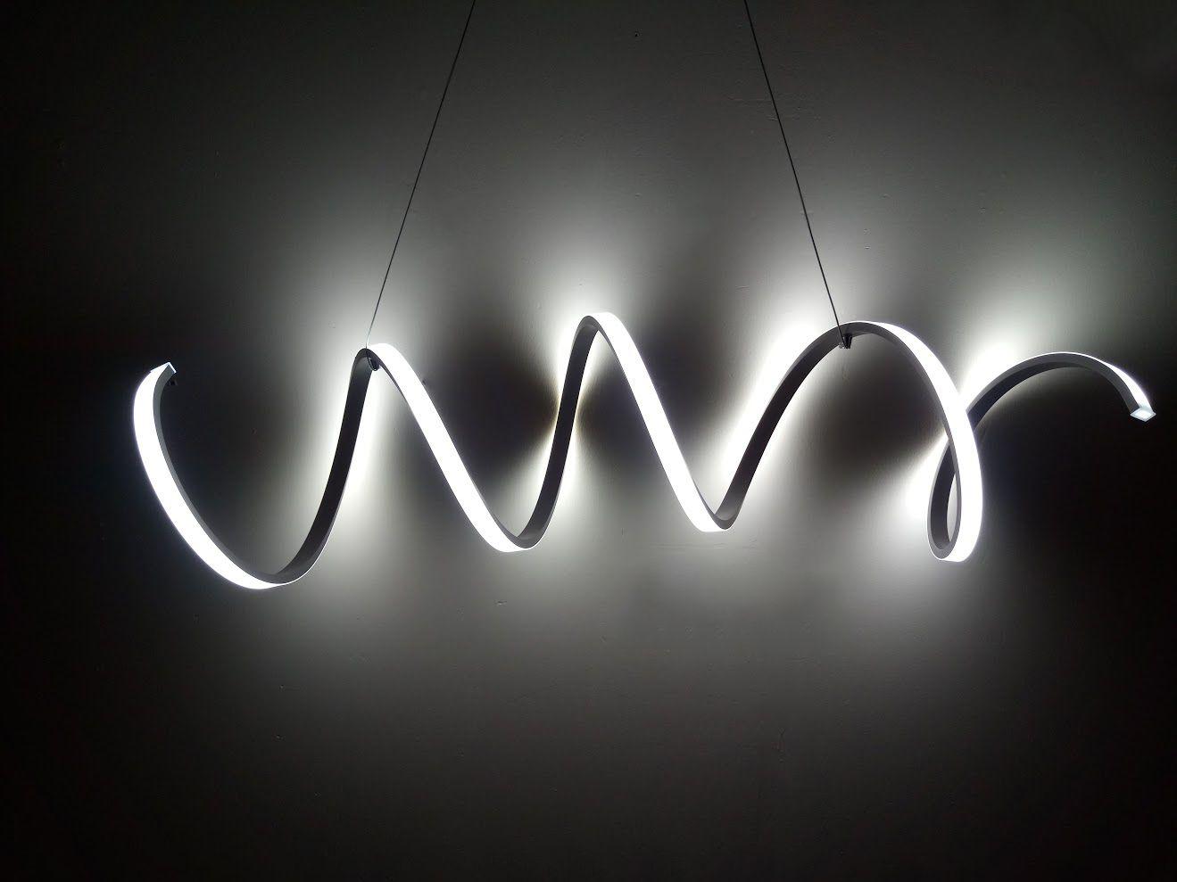 Spring Modern LED Pendant Light Fixture  Modern Place