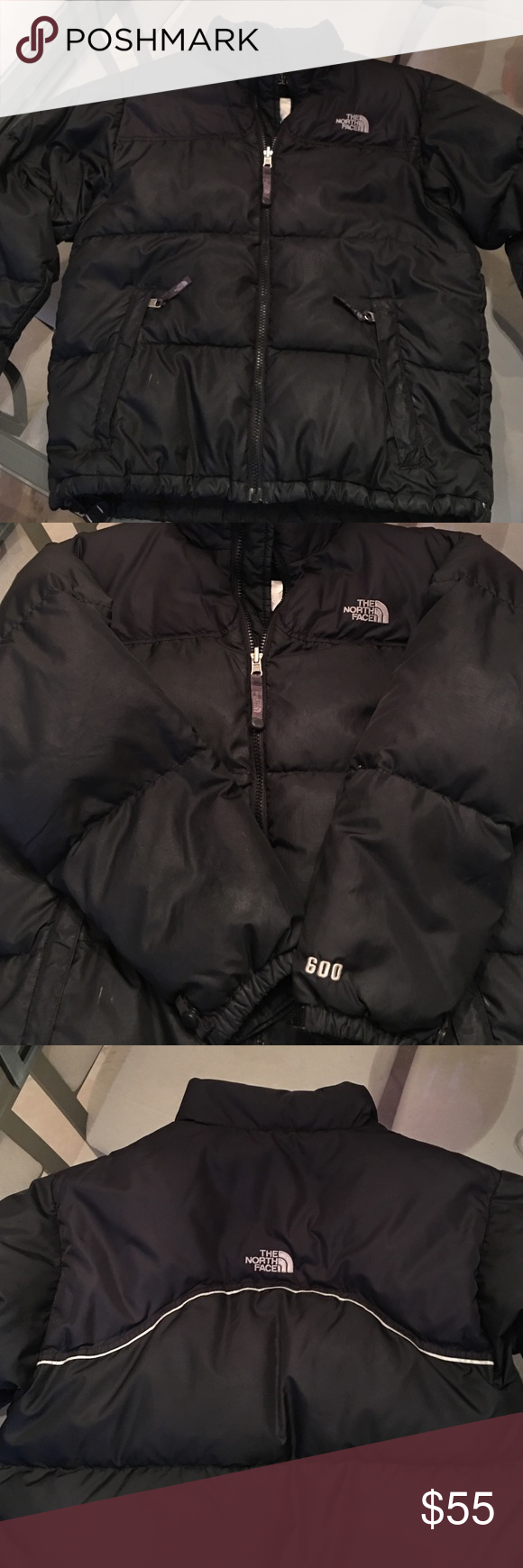 a33682f46d North Face Youth Large down feather winter coat Can be boys or girls youth  size large