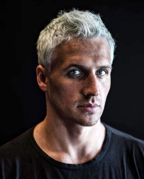 The Best Olympic Beauty Moments Ryan Lochte Grey Hair Goth Hair