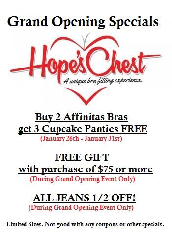 GRAND OPENING SPECIALS!