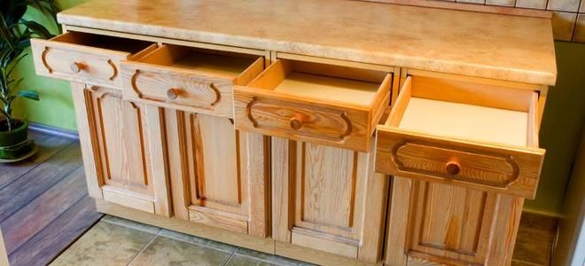 The step by step process of refacing your cabinets to give your