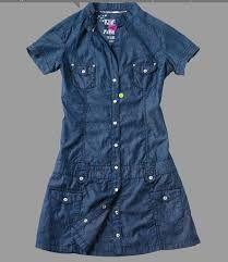 Resultado de imagem para vestidos en jean