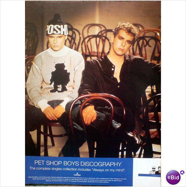 Pet Shop Boys Discography Magazine Advert Pet Shop Boys Pets