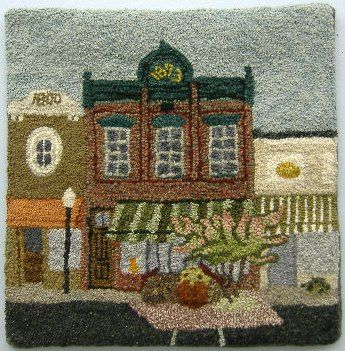 Wonderful place to buy your Rug Hooking Supply's. And Love to take her classes.
