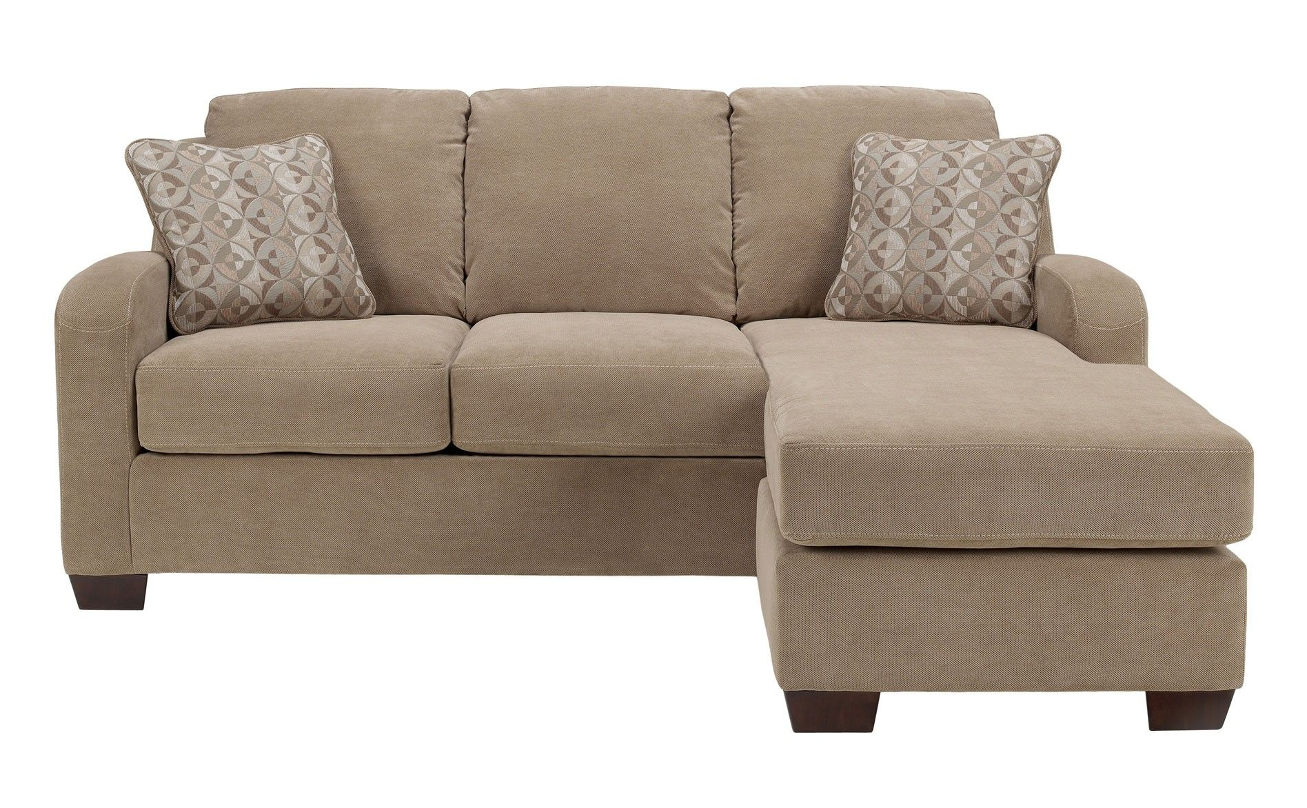 sectional sofas with chaise | Ashley Circa Sofa Chaise - Taupe ...