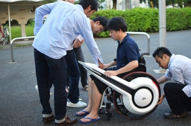 WHILL, Aftermarket Electric Add-On for Wheelchairs