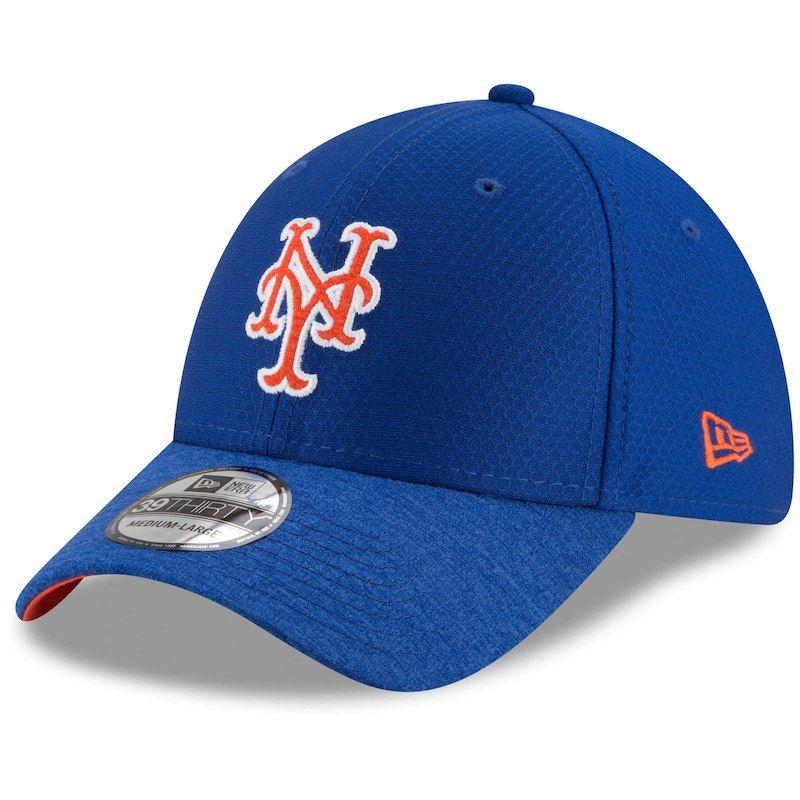 New York Mets New Era Popped Shadow 39THIRTY Flex Hat - Royal ... c9e20b2b127