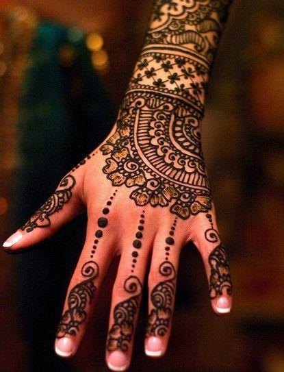Henna Style Tattoo Designs African Bridal Mehendi Designs 2012