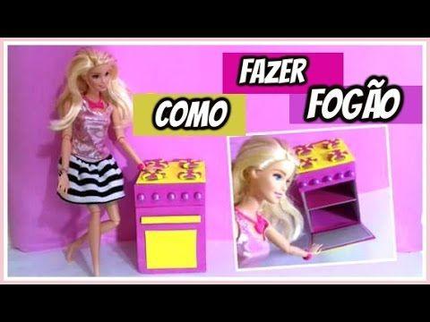 Como fazer fogão para bonecas - especial MIL INSCRITOS