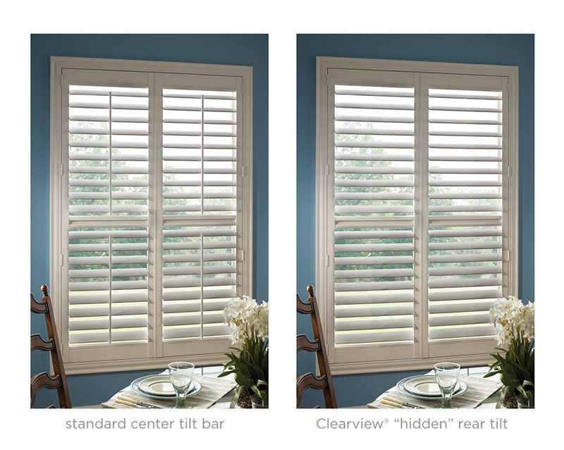 plantation shutters without center bar Google Search Shutters