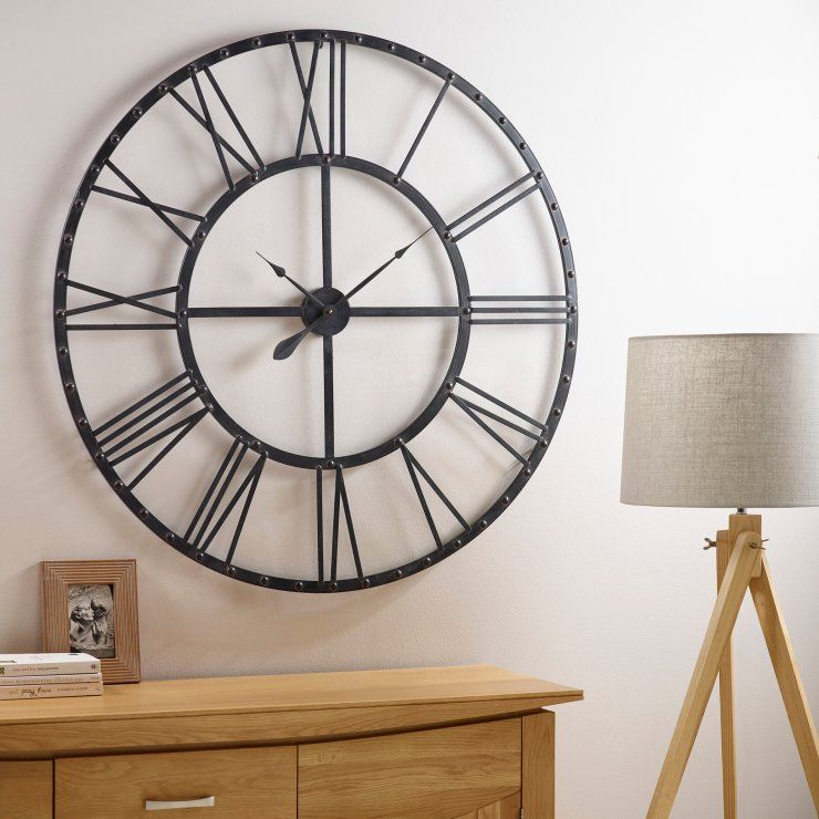 House · Tosca Wall Clock By Oak Furniture Land